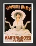 Vermouth, Martini & Rossi Posters by Marcello Dudovich