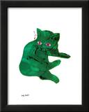 Green Cat, c.1956 Poster by Andy Warhol