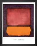 Rothko - Untitled 1962 Print by Mark Rothko