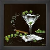 Martini Limbo Prints by Michael Godard