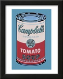 Campbell's Soup Can, 1965 (Pink and Red) Print by Andy Warhol