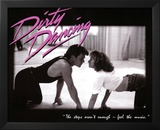 Dirty Dancing Movie Patrick Swayze Dancing Jennifer Grey 80s Poster Print Posters
