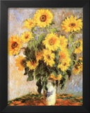 Sunflowers Poster by Claude Monet