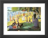 La Grande Jatte Prints by Georges Seurat