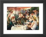Luncheon Boating Party Art by Pierre-Auguste Renoir