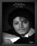 Michael Jackson (Commemorative,  B&W) Posters