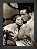 Casablanca Movie (Humphrey Bogart and Ingrid Bergman) Poster Print Prints