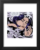 Drowning Girl Prints by Roy Lichtenstein