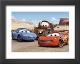 The Cast of Cars Art