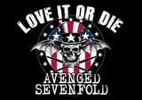 Avenged 7Fold - Love it or Die Kunstdruck