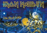 Iron Maiden - Live After Death Poster