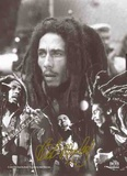 Bob Marley : Photo-collage avec signature Posters