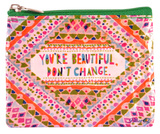 You're Beautiful Coin Purse Porta-moedas