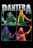 Pantera - Band Frames Prints