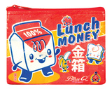 Lunch Money Coin Purse Porta-moedas