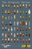 Star Trek- Pixels Prints