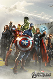 The Avengers Flight Deck Posters
