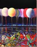 Mosaic Impulse Særudgave på lærred af Ford Smith