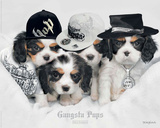 Keith Kimberlin-Gangsta Pups Poster