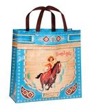 Boss Lady Blue Shopper Tote Bag
