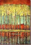 Autumn Amusement Særudgave på lærred af Ford Smith
