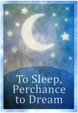 To Sleep Perchance To Dream Art Poster Print Poster
