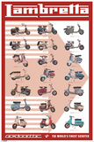 Lambretta E 166C1FF Posters