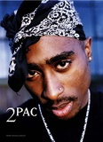 2Pac - Drum Print