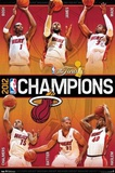 Miami Heat 2012 NBA Champions Posters