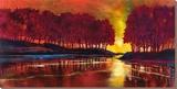 Intensidad en calma Edición limitada en lienzo por Ford Smith