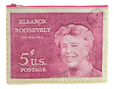 Eleanor Roosevelt Zipper Pouch Zipper Pouch