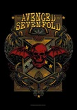 Avenged Sevenfold - Death Crest Kunstdruck