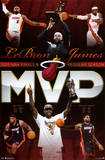 LeBron James Miami Heat 2012 NBA Finals MVP Poster