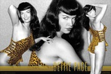Bettie Page - Leopard Prints