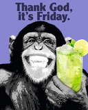 The Chimp-Friday Print