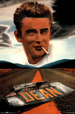 James Dean License Plate Posters