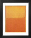 Orange & Yellow Prints by Mark Rothko