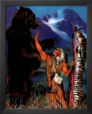 Dan McManis (Animal Warrior) Art Print Poster Posters