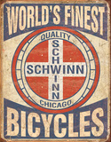 Schwinn - World's Finest Plaque en métal