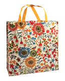 Flower Field Shopper Tote Bag