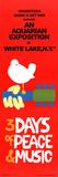 Poster Woodstock festival Foto