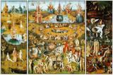 Hieronymus Bosch - Dünyevi Zevkler Bahçesi, c.1504 - Reprodüksiyon