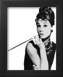 Audrey Hepburn Glossy Movie Print Poster Framed Photographic Print