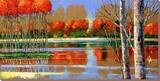 Panoramic Repose Særudgave på lærred af Ford Smith