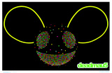 Deadmau5 - Blacklight Print