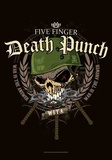 5 Finger Death Punch - Warhead Plakát