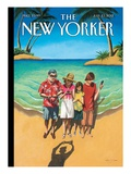 The New Yorker Cover - July 23, 2012 Premium Giclee Print by Mark Ulriksen