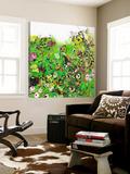 Green Garden 1 Poster by Diane Lambin