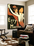 Erry & Merry Poster by Walter Schnackenberg