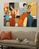 Trois femmes Affiches par Julia Shaternik